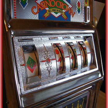 TOY BANK -- Slot Machine - Coin Operated