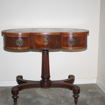 GREAT GRANDMOTHERS KIDNEY SHAPED TABLE