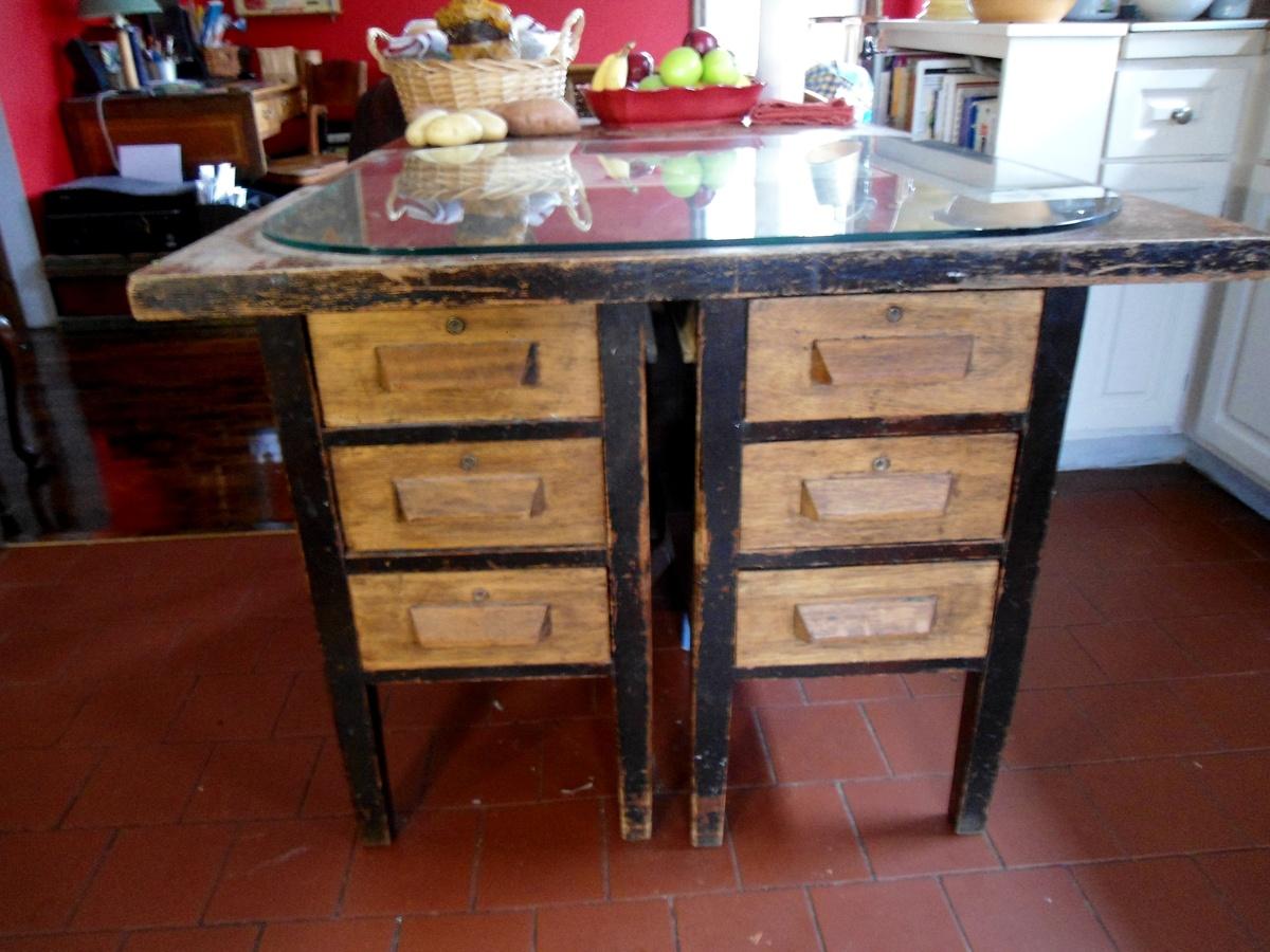 antique kitchen island desk   collectors weekly  rh   collectorsweekly com