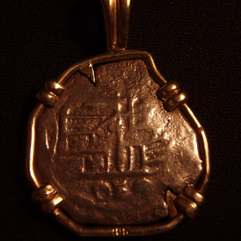 Shipwreck coin, back - Fine Jewelry