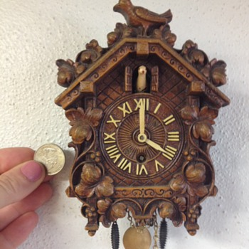 Itty Bitty Cuckoo Clock - Clocks