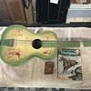 Cowboy western  toy guitar  1950's