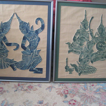 Eastern Art.  - Asian