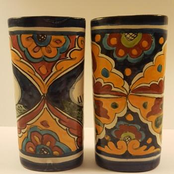 Cute Talavera Art Pottery Vases - Pottery
