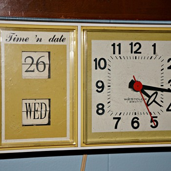 Westclox electric Time 'n Date Kitchen Clock - Clocks
