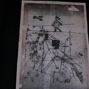 this is thigtrope walker Paul Klee - Fine Art