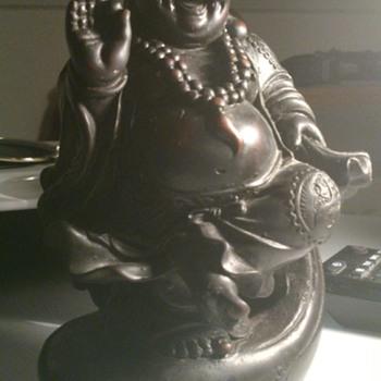 Black buddha figurine! - Asian
