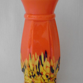 Kralik Art Deco Vase - Art Glass