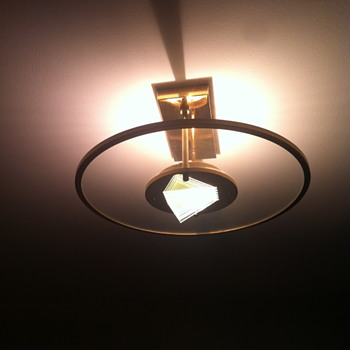 1970 ceiling light. - Lamps