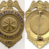 Camp Haan Assistant Fire Chief Badge