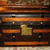 Mid 1800's Leather Covered Trunk