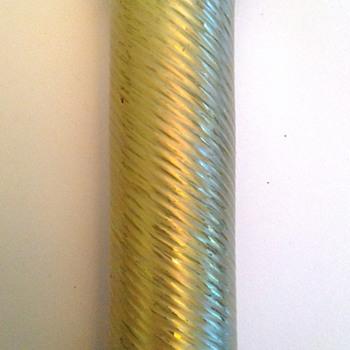 Rindskopf Gold Tone Art Glass  - Art Glass