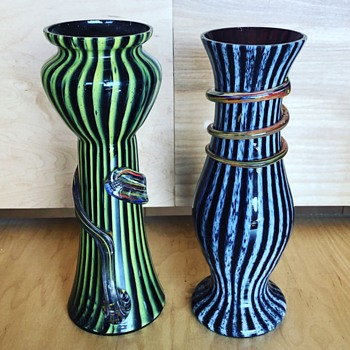 Czechoslovakia glass   - Art Glass