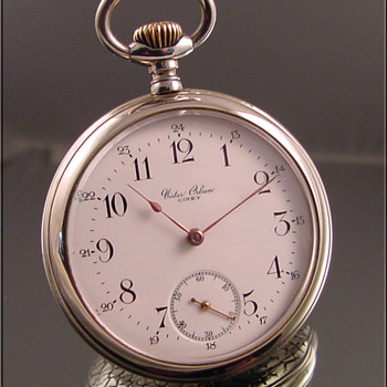 Omega Private Label Pocket Watch Victor Orban, Ciney - Pocket Watches