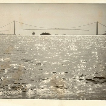 Spanning the Narrows waterway (1964) - Photographs