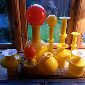 All our Carnaby from Holmegaard in Denmark - Art Glass