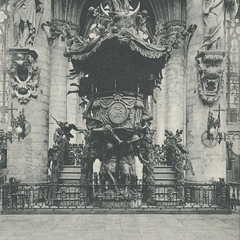 BRUXELLES - LA CHAIRE DE L'EGLISE STE. GUDULE - Postcards