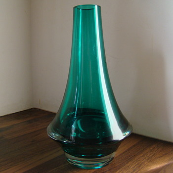 Riihimaki vase - Art Glass
