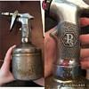 Silver oil spray pump