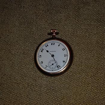 Cool gold filled Hampden pocket watch