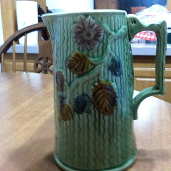 George Morleys syrup pitcher - 1880's - Pottery