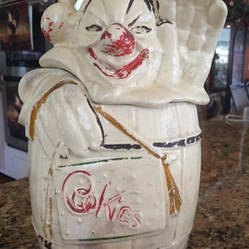 mcCoy cookie jar - Pottery