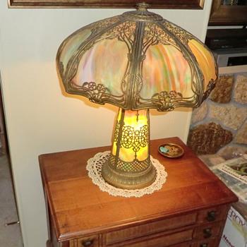 Unidentified Antique Slap Lamp - Lamps