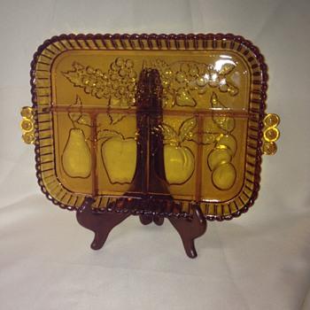 Indiana Glass Relish Tray #1202