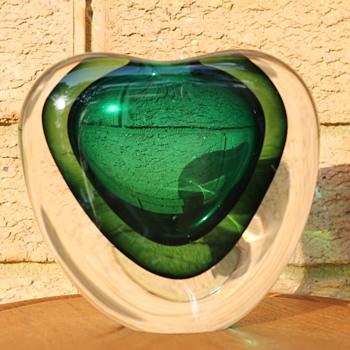 Akane Matsuura sommerso vase - Art Glass