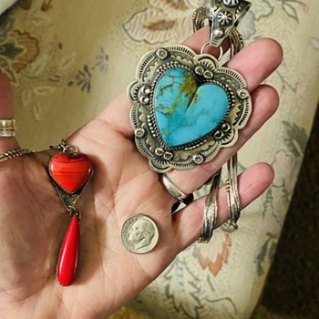 Native American Valentines Day Hearts and Love - Fine Jewelry