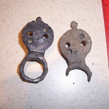 Vintage brass latches?, hitching fasteners?  Mystery??? - Tools and Hardware