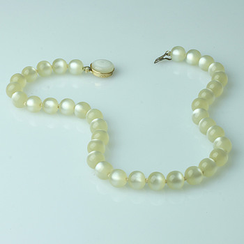 Moonglow lucite - Costume Jewelry
