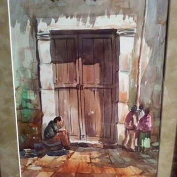 WATERCOLOR PAINTING - Fine Art