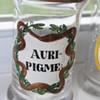 old medicine jars  set of three