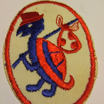 Vintage Embroidered Clothes Patch - Sewing