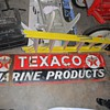 Texaco Marine Products Sign