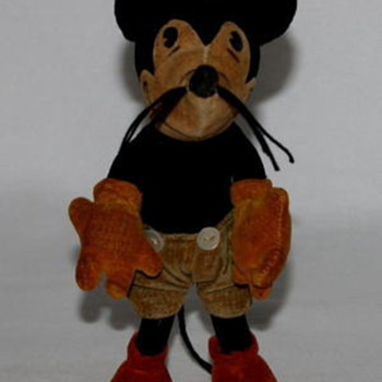 Steiff 1930's Mickey Mouse Doll - Animals