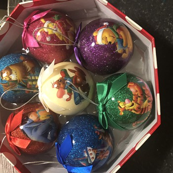 Disney baubles limited edition  - Christmas