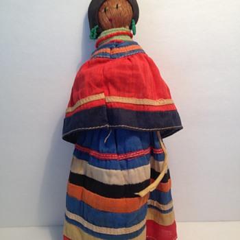 Seminole Indian doll