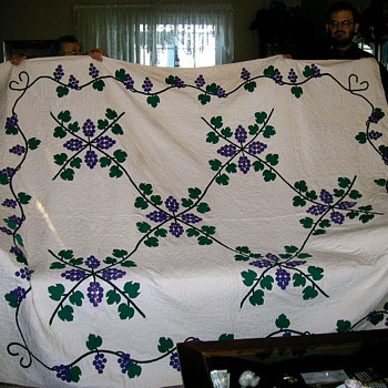 My Grapevine Quilt - Sewing