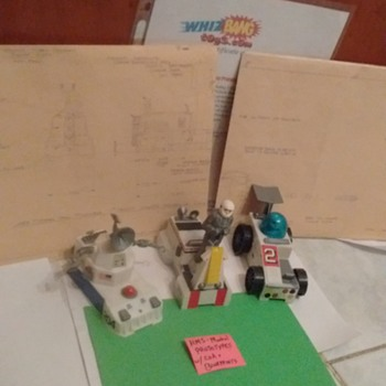 1960's Mattel \ HMS prototypes !!!!  With COA & blueprints  - Toys