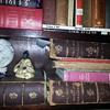 CHARLES LENNOX WRIGHT's EXHIBITS #781 - 86 (Geneological Section / MOYEN AGE et la RENAISSANCE 1851 - five volumes.
