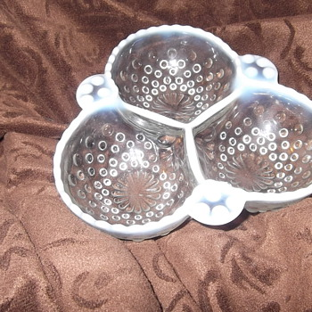 Moonsstone Candy Dish - Glassware