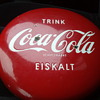 coca cola button 16in. from Germany