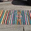 Textile Mexican Serape Blanket