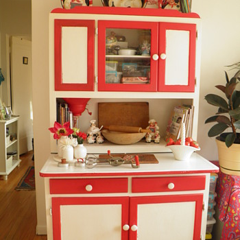 My Grandmothers Hoosier Cabinet - Furniture