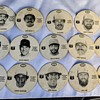 Vintage 1981 FBI Fanta Bantam MLB Baseball Discs with Ryan Jackson Garvey Rose