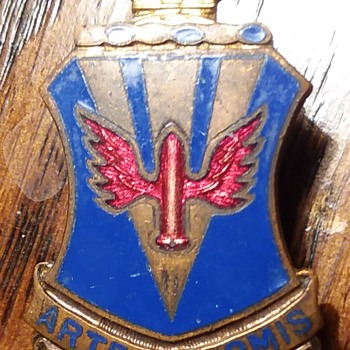 202nd Air Defense Artillery Regiment DUI - Military and Wartime