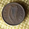 1942 Ireland 3 Pence coin
