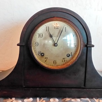 "1920's Ansonia Clock Co. Model ""Dundee"" Mantle Clock - Clocks"